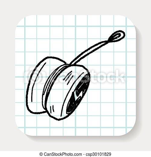 yo-yo doodle - csp30101829