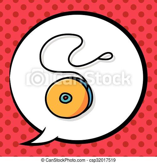 yo-yo doodle - csp32017519