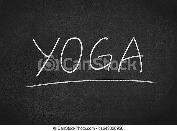 yoga - csp43328956