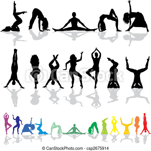 Yoga and fitness- woman - csp2675914