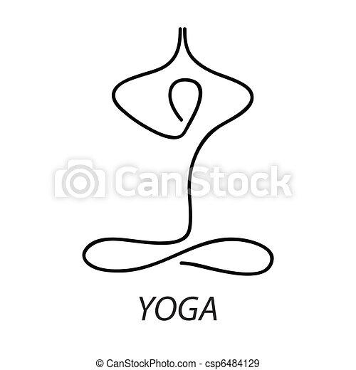 Yoga Lotus Signe Posture Relax Symbole Meditation
