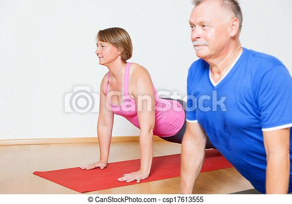 Yoga Exercise - csp17613555