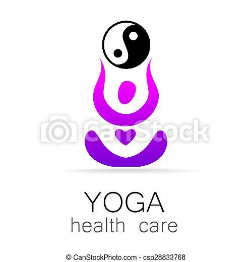 yoga health care - csp28833768