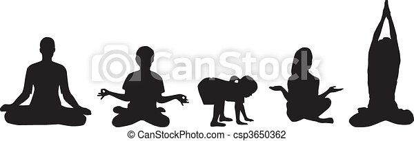 Yoga - csp3650362