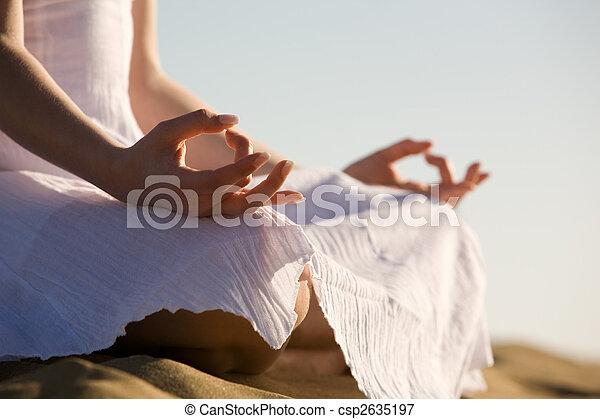 Yoga - csp2635197
