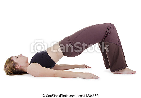 yoga pose yoga pose  female in sport clothes performing