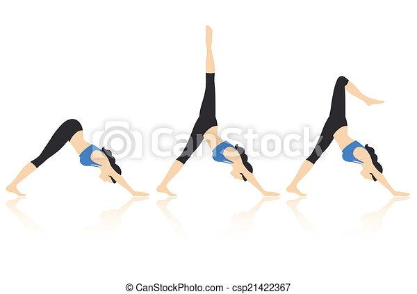 Yoga Poses - csp21422367