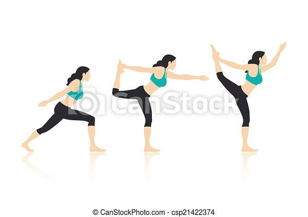 Yoga Poses - csp21422374