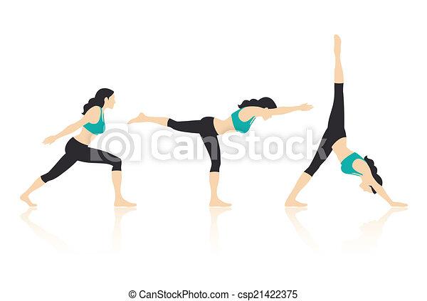 Yoga Poses - csp21422375