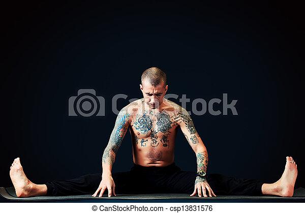 yoga, ruch - csp13831576