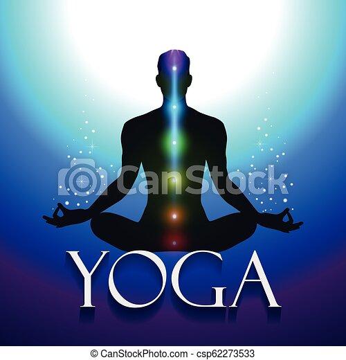 Yoga Silhouette Om Mandala Transparency Blending Effects And Gradient Mesh Eps 10