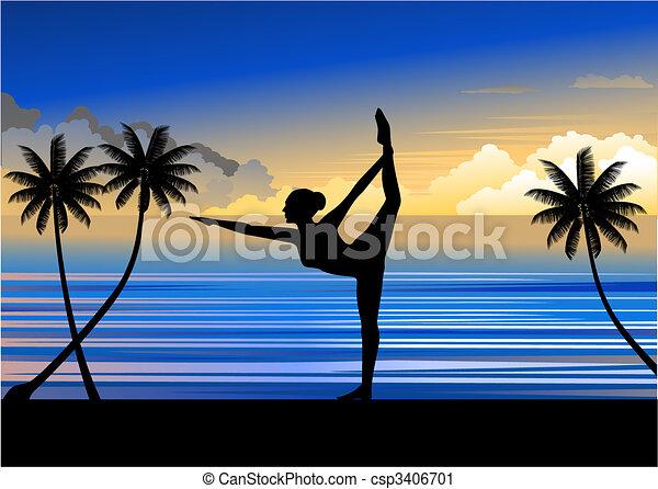 yoga - csp3406701