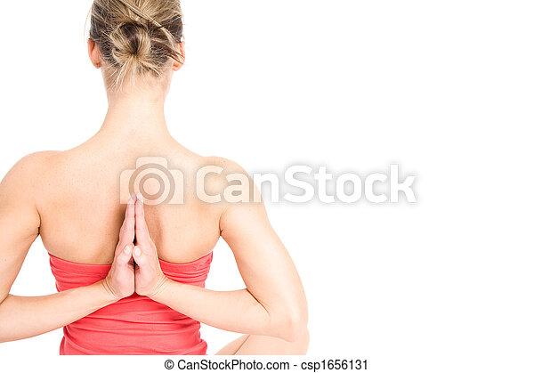 Yoga woman - csp1656131