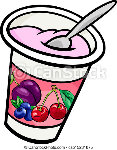 yogurt clip art cartoon illustration cartoon illustration rh canstockphoto com clip art stock photos free clip art stocking