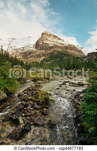 Yoho National Park - csp44677183