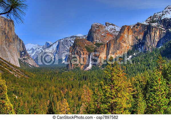 Yosemite National Park - csp7897582