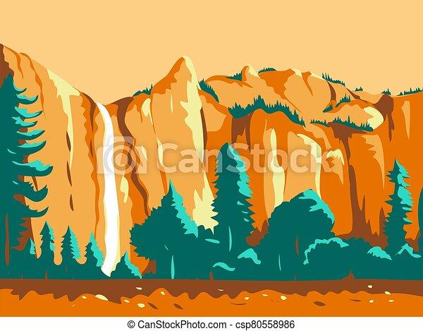 yosemite-national-park-WPA - csp80558986