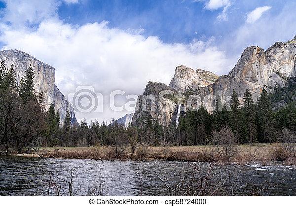 Yosemite Valley View - csp58724000
