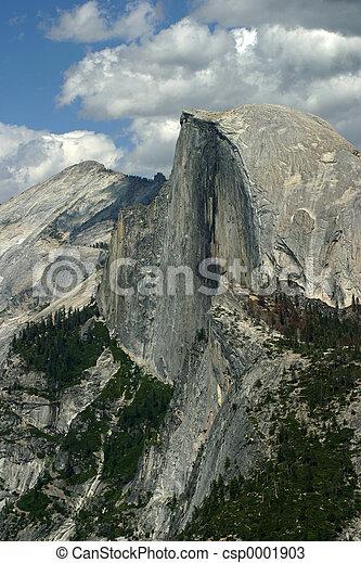 Yosemite's Half-Dome - csp0001903
