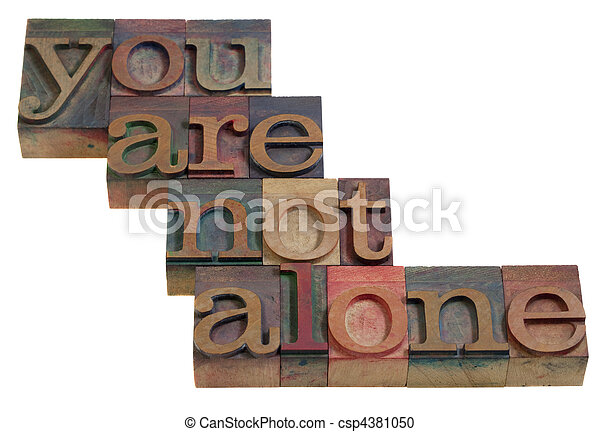 you are not alone - csp4381050
