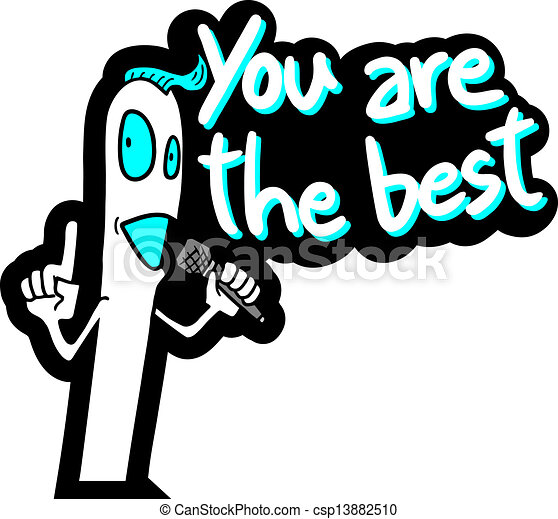design of you are the best message vector clip art search rh canstockphoto co uk You Are the Best Clip Art thank you you are awesome clip art