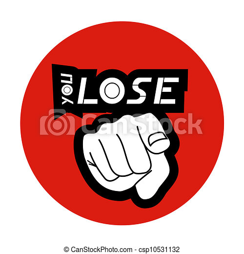 you lose point stick design