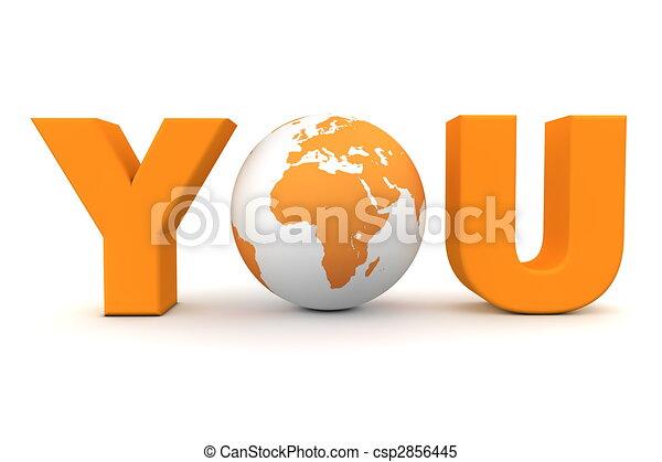 You World Orange - csp2856445