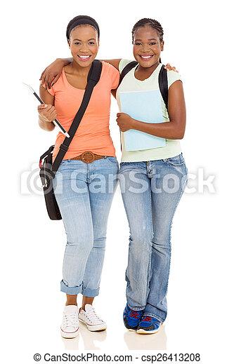 College girls with boy friends
