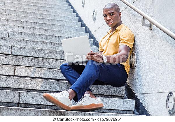 Pants blue shirt yellow with supreme shop