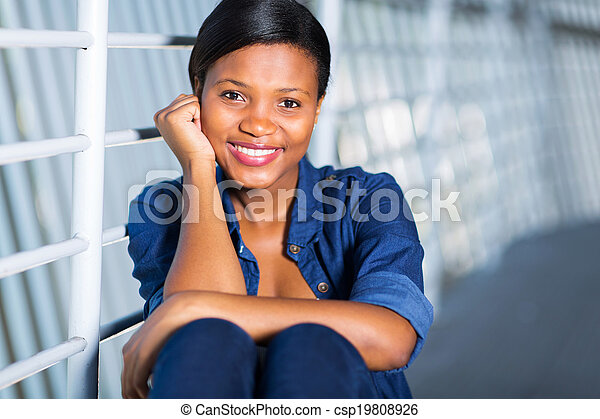 young african american woman - csp19808926