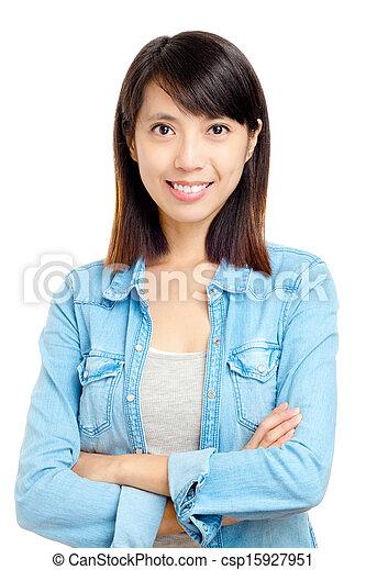 Young asian woman - csp15927951