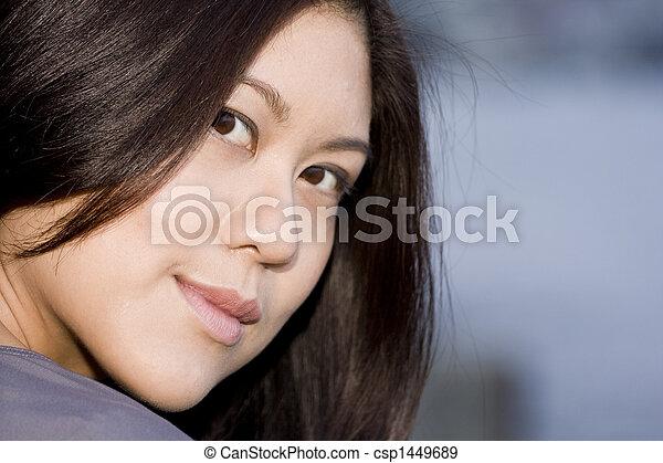 Young Asian Woman - csp1449689