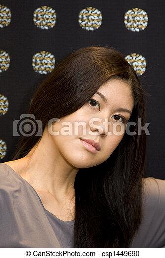 Young Asian Woman - csp1449690
