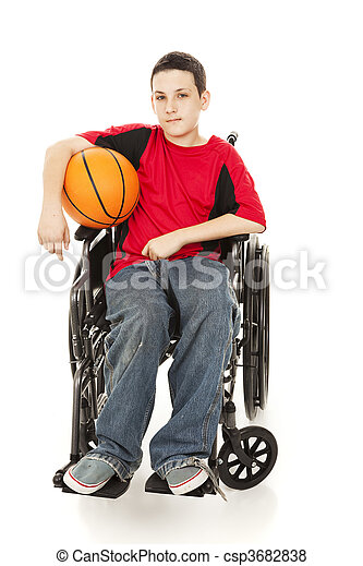 Young Athlete - Disability - csp3682838