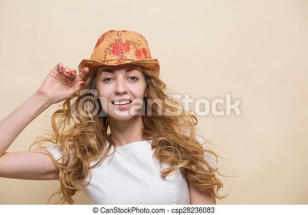 Young beautiful woman - csp28236083