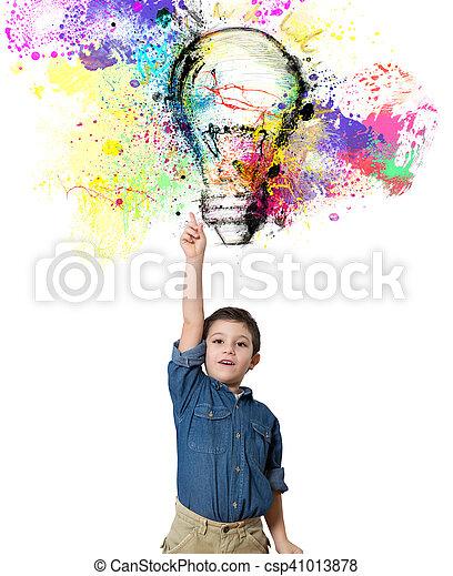 Young big idea - csp41013878