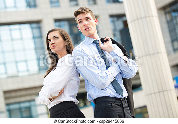 Young Business Couple - csp29445066