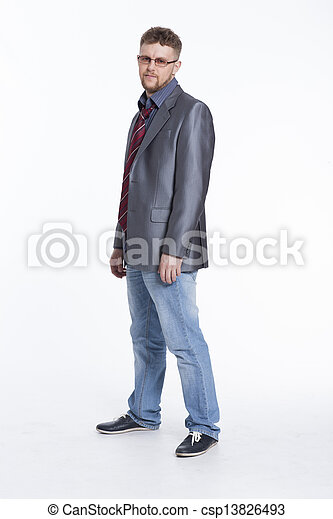 Young Business Man - csp13826493