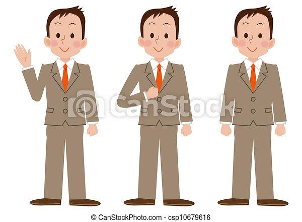 Young businessman - csp10679616