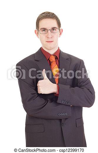 Young businessman - csp12399170