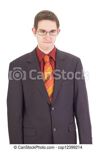 Young businessman - csp12399214