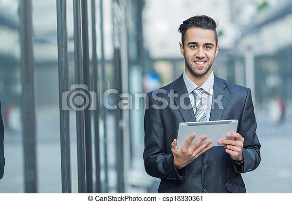 Young Businessman. - csp18330361