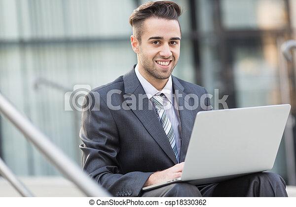 Young Businessman - csp18330362