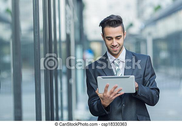 Young Businessman - csp18330363