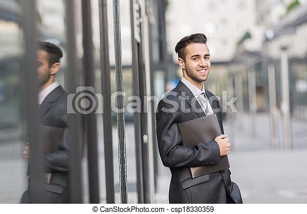 Young Businessman. - csp18330359