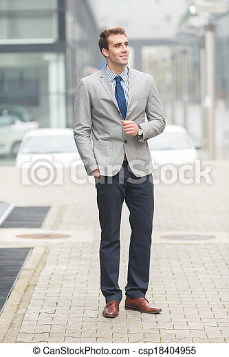 Young Businessman - csp18404955