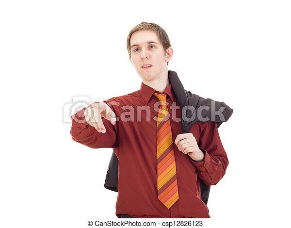 Young businessman - csp12826123