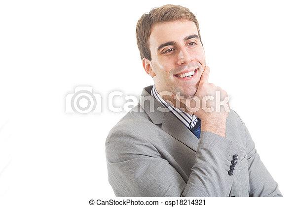 Young Businessman - csp18214321