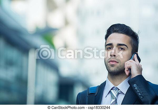 Young Businessman. - csp18330244