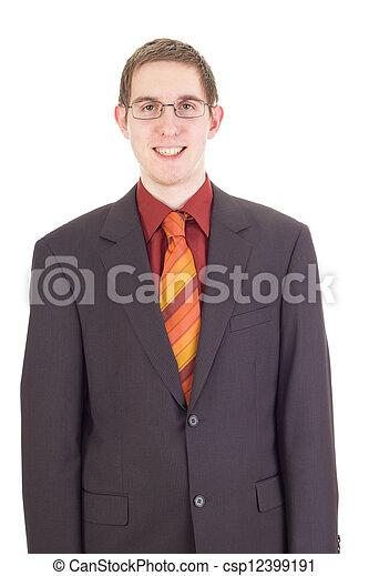 Young businessman - csp12399191